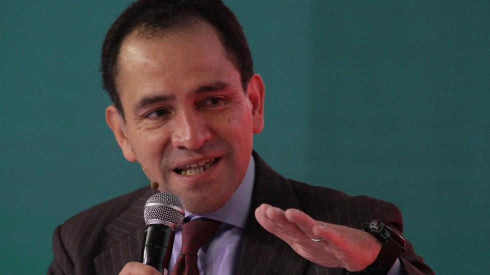 México, preparado para una desaceleración económica mundial: Arturo Herrera - Arturo Herrera, secretario de Hacienda. Foto de Notimex.