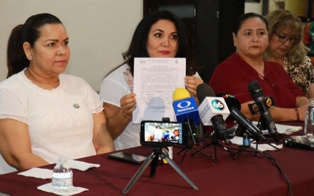 Ampliación de mandato en Baja California gana consulta con 84.25% de votos - Acta sobre consulta ciudadana en Baja California. Foto de @congresobc.poderlegislativo