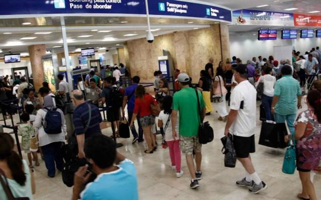 Aseguran paquetes de cocaína en aeropuerto de Cancún - Aeropuerto de Cancun. Foto de Cancún Airport