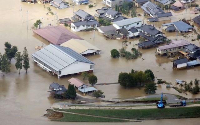 Tifón Hagibis en Japón suma más de 20 muertos - Al menos 24 personas murieron y otras 17 están desaparecidas por Hagibis. Foto de EFE