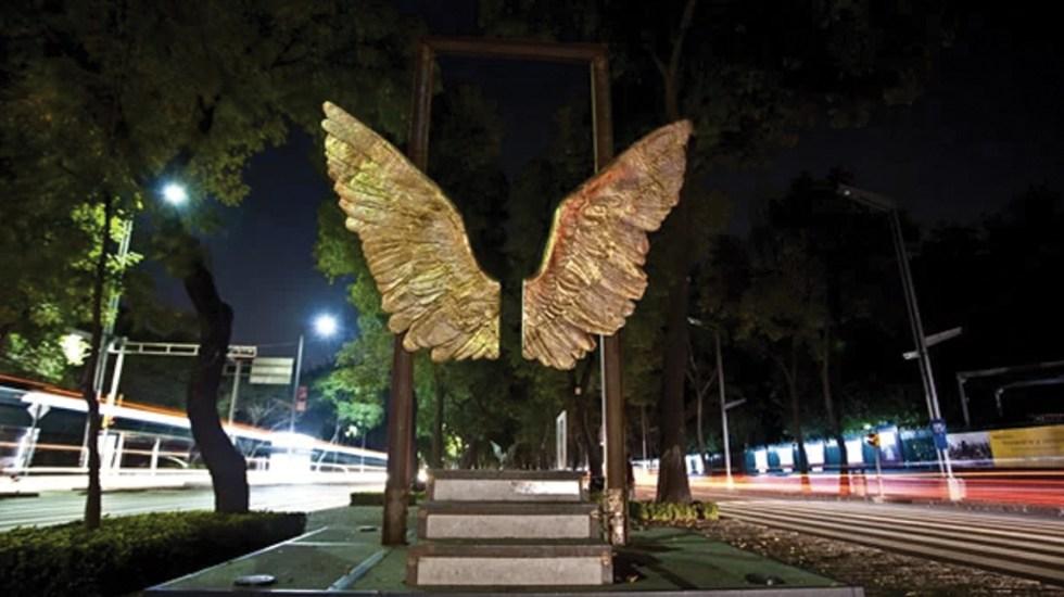 Reubicarán escultura 'Alas de México' - Foto de internet