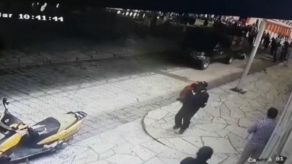 #Video Amarran y arrastran a alcalde en Chiapas - Foto de captura de pantalla