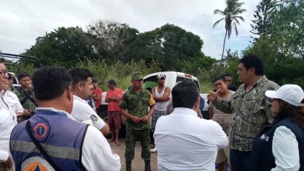 Emiten declaratoria de emergencia para Aldama tras lluvias e inundaciones - Foto de Protección Civil Tamaulipas