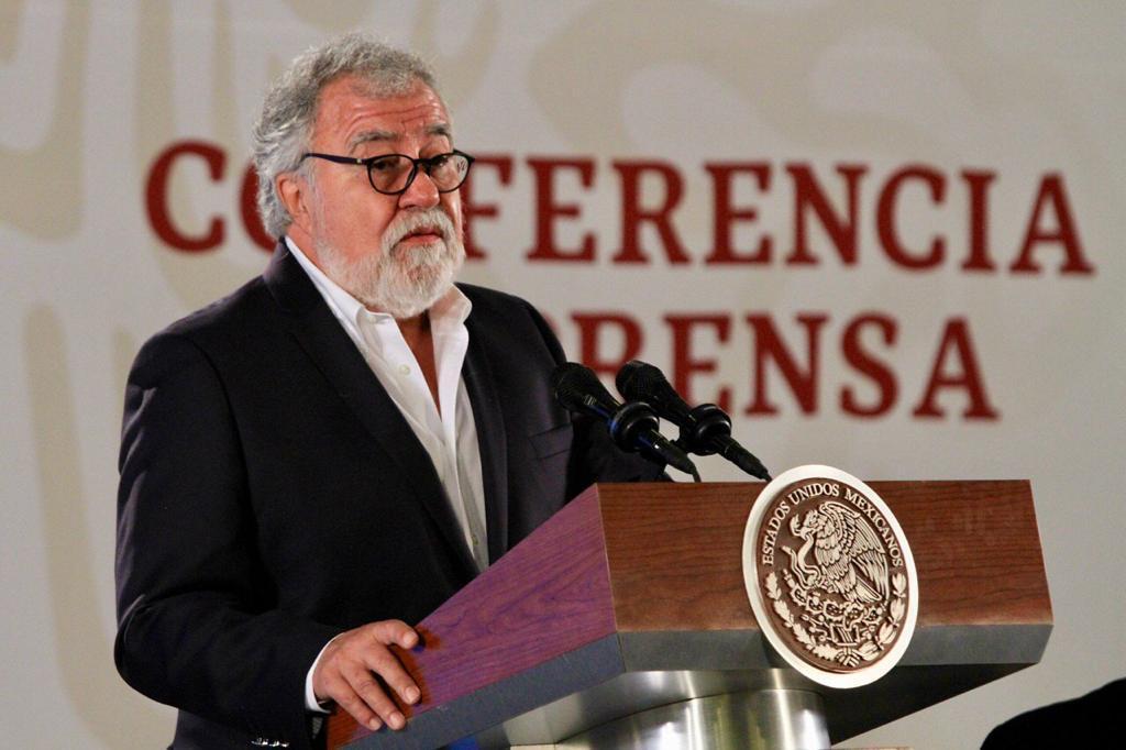 Alejandro Encinas, subsecretario de Derechos Humanos. Foto de Notimex.
