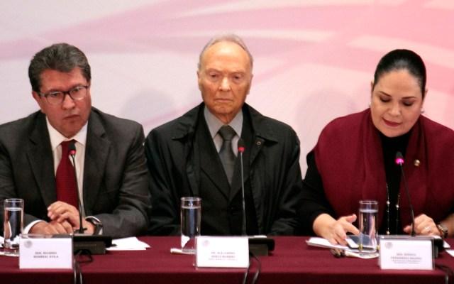 Culiacán no será otro Ayotzinapa, asegura Gertz Manero - El Fiscal Alejandro Gertz Manero. Foto de Notimex-Romina Solis.
