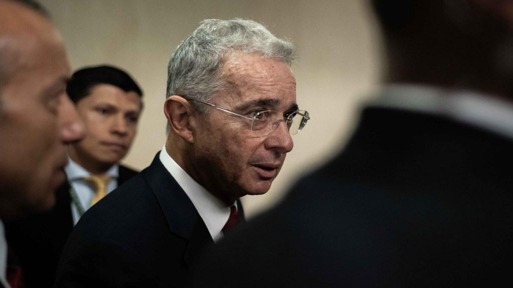 Niega Fiscalía petición de libertad de expresidente Álvaro Uribe - Álvaro Uribe. Foto de EFE