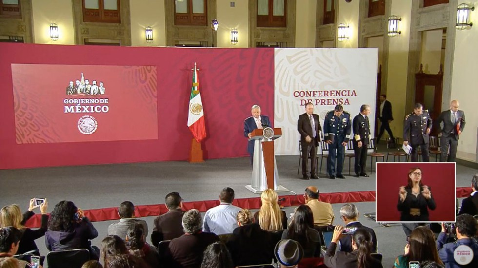 López Obrador lamenta emboscada a policías estatales en Michoacán - amlo confe seguridad