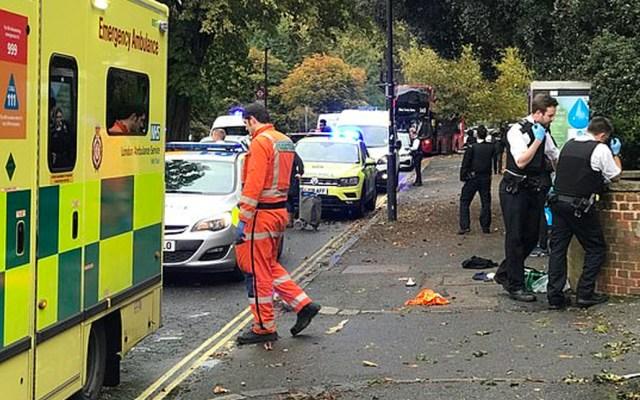 Apuñalan a tres personas en Londres; hay cuatro detenidos - Apuñalan a tres a sur de Londres