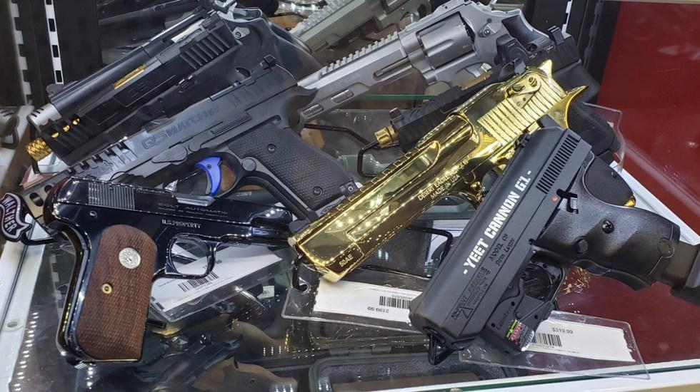 Si EE.UU. quiere ayudar a México, debe reducir tráfico de armas: Ebrard - Armas arma Estados Unidos