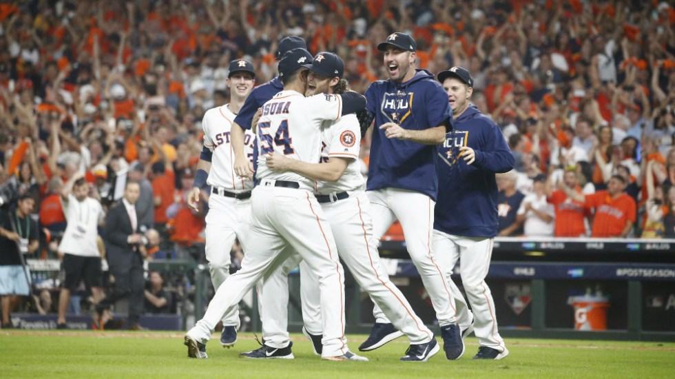 Astros logra su pase a Serie de Campeonato de la Liga Americana - Foto de EFE