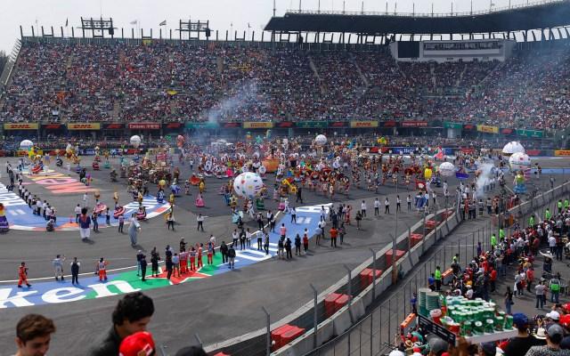 Fiesta en el Autódromo Hermanos Rodríguez - Foto de Notimex-Isaías Henández.