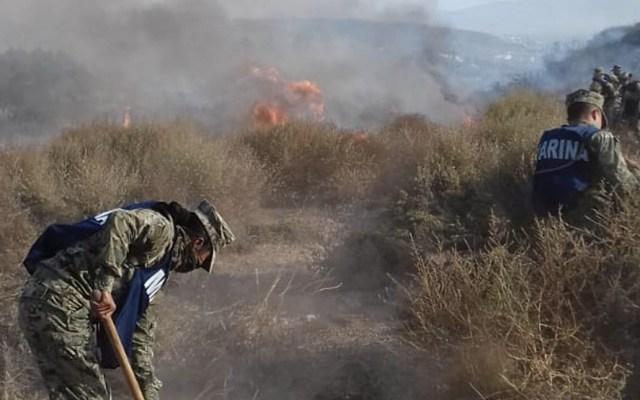 Suspenden clases en tres municipios de Baja California por vientos de Santa Ana - Baja California incendios vientos
