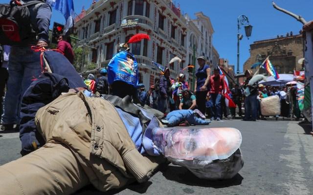 Enfrentamientos en Bolivia dejan dos muertos - Bolivia protestas disturbios 301019