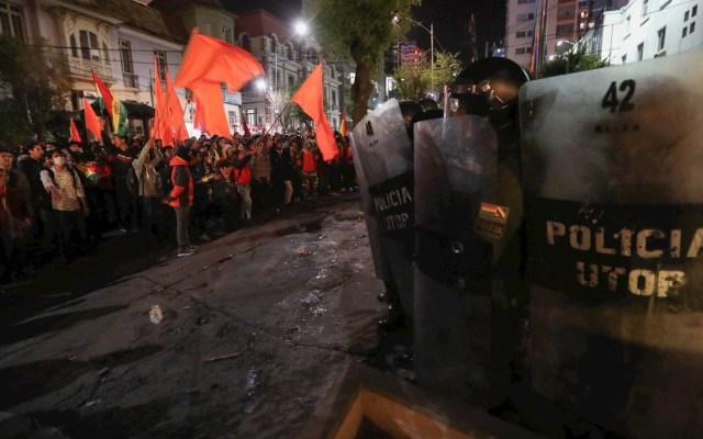 Detienen a 27 personas durante disturbios en Bolivia - Bolivia protestas disturbios