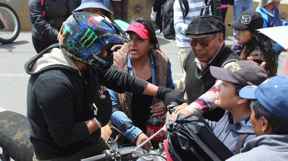 Protestas en Bolivia dejan al menos 30 heridos - Bolivia protestas enfrentamientos manifestaciones