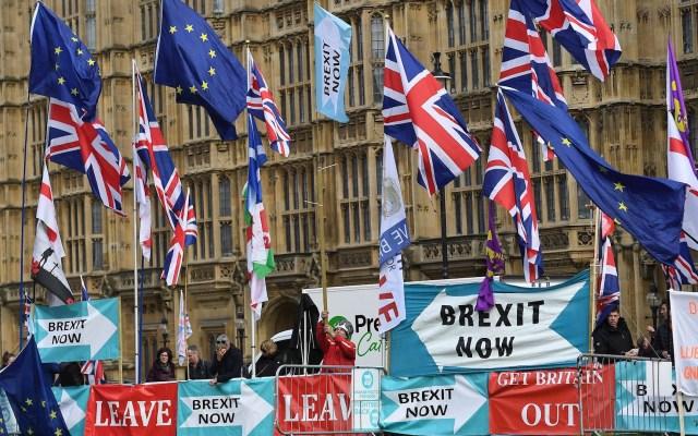 Reino Unido dispuesto a anular partes del acuerdo del Brexit