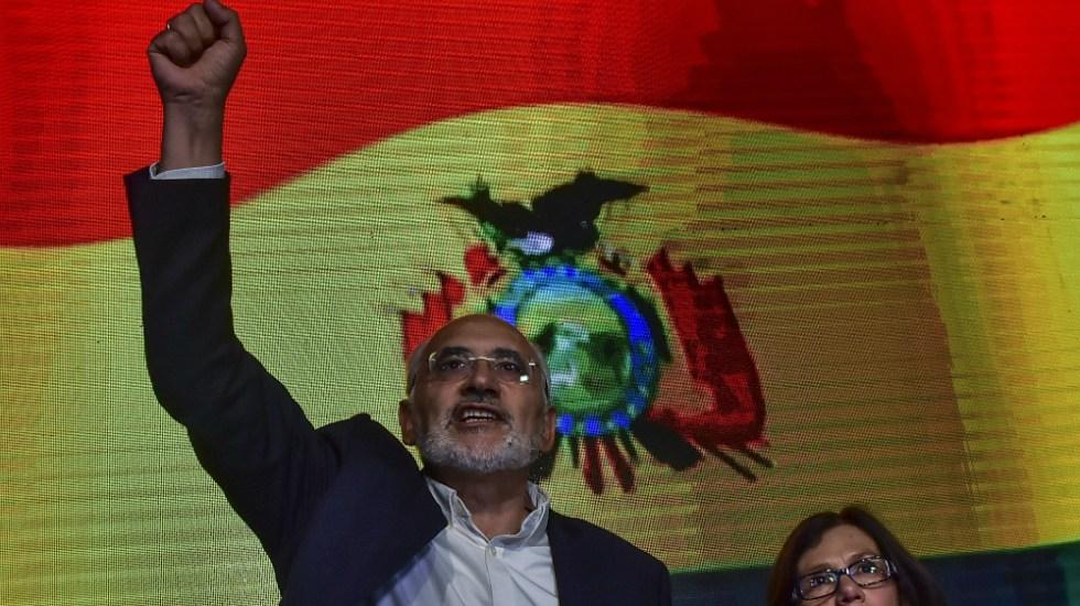 Opositor Carlos Mesa anuncia postulación en elecciones en Bolivia - Foto de EFE