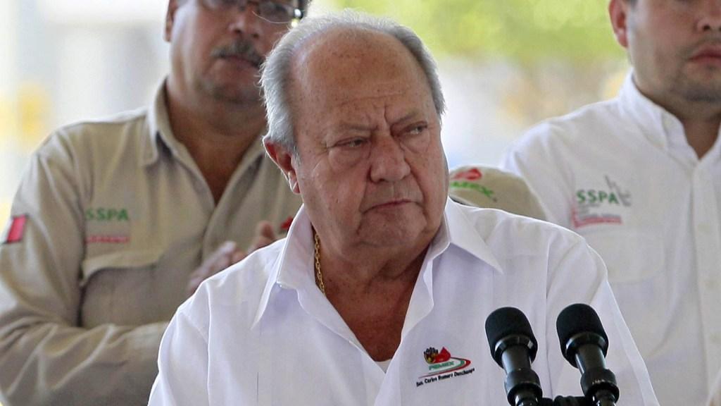 Desde hoy, Carlos Romero Deschamps deja de ser trabajador de Pemex: AMLO - Carlos Romero Deschamps Petróleos sindicatos
