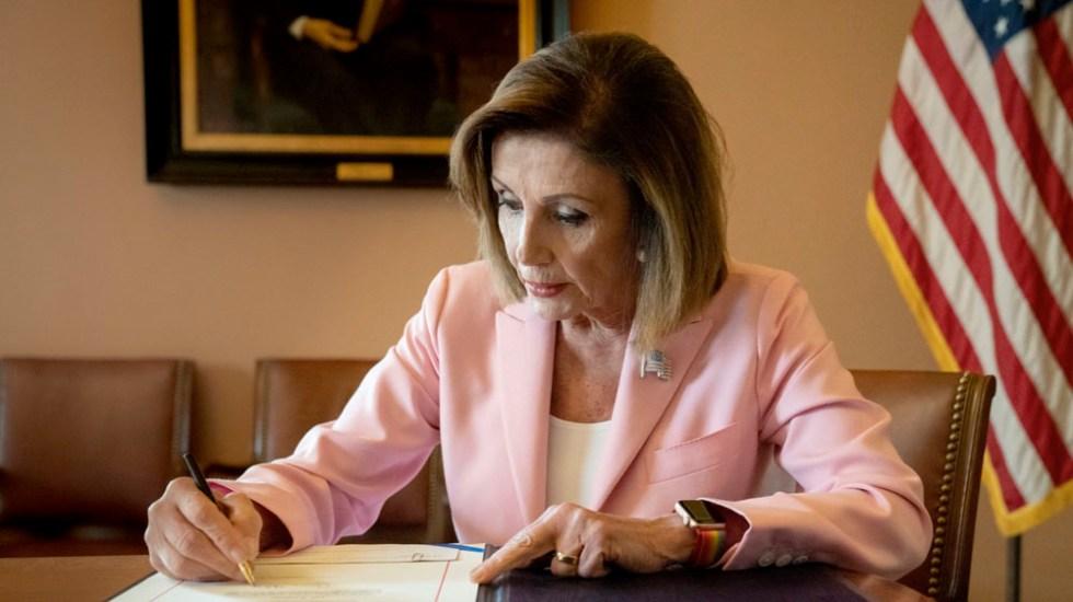 AMLO enviará carta a Nancy Pelosi para pedir ratificación de T-MEC - carta amlo pelosi T-MEC