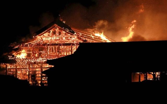 Arde el castillo Shuri de Okinawa, declarado patrimonio de la humanidad - Castillo Shuri Okinawa 3