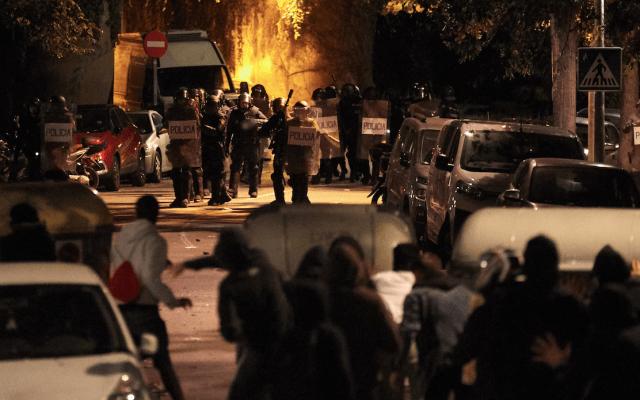 Tensa calma en Cataluña de cara a huelga de este viernes - Foto de EFE