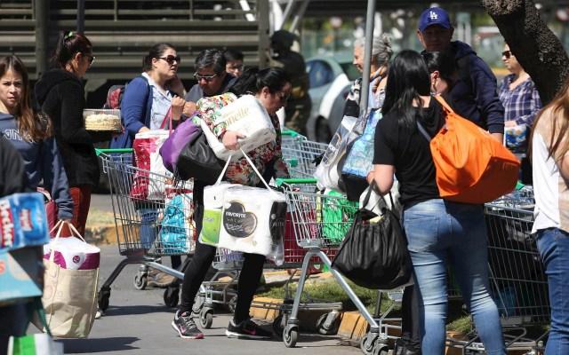 Protestas en Chile dificultan adquisición de productos básicos - Chile supermercados protestas disturbios