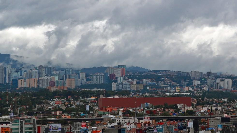 Prevén lluvias por la tarde en el Valle de México - Cielo nublado en el Valle de México. Foto de Notimex
