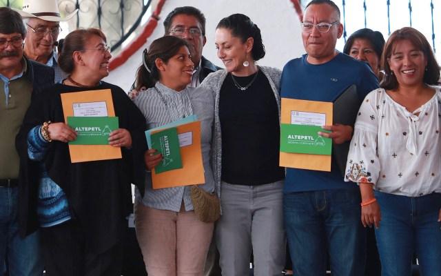 Sheinbaum asegura que está dedicada a la Ciudad de México - Foto de Notimex