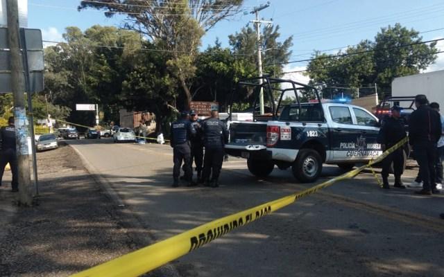 Asesinan a comandante de la policía municipal de Cuernavaca - Foto de La Unión de Morelos