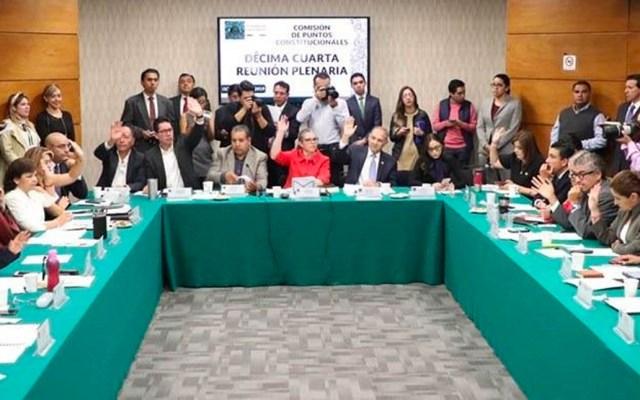 Aprueban en comisión recortar 50% del presupuesto a partidos políticos - Aprueban en comisión recorte a presupuesto de partidos políticos. Foto de Morena