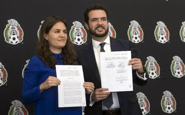 FMF y Conapred firman convenio para erradicar grito homofóbico - Foto de Mexsport