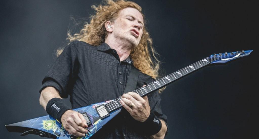 Dave Mustaine, de Megadeth, pone a la venta sus instrumentos musicales - Foto de Guitar Player