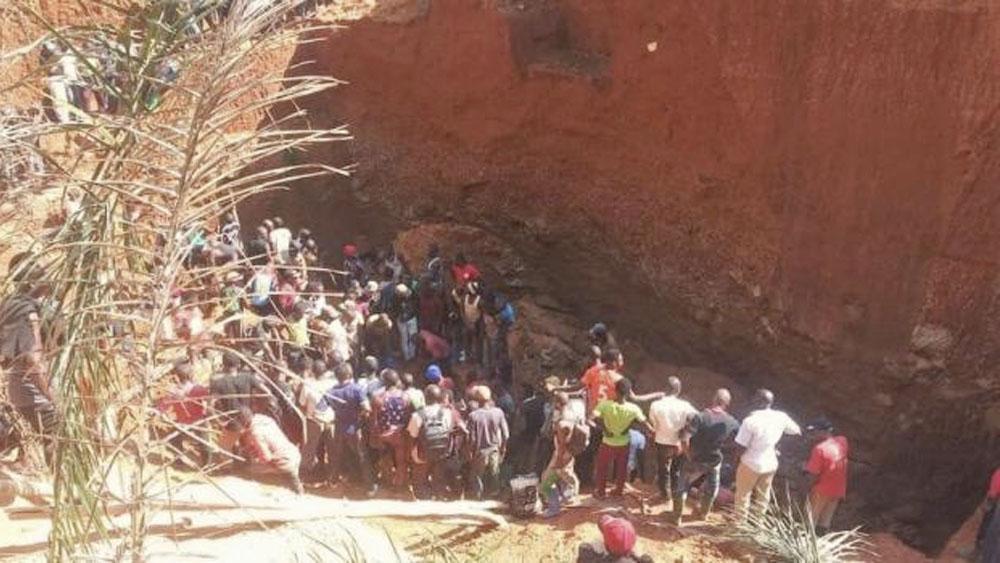 Derrumbe en mina de oro deja al menos 22 muertos en el Congo - derrumbe congo