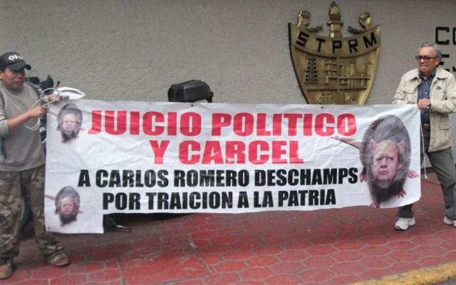 Disidentes piden juicio político a Romero Deschamps - disidentes romero deschamps
