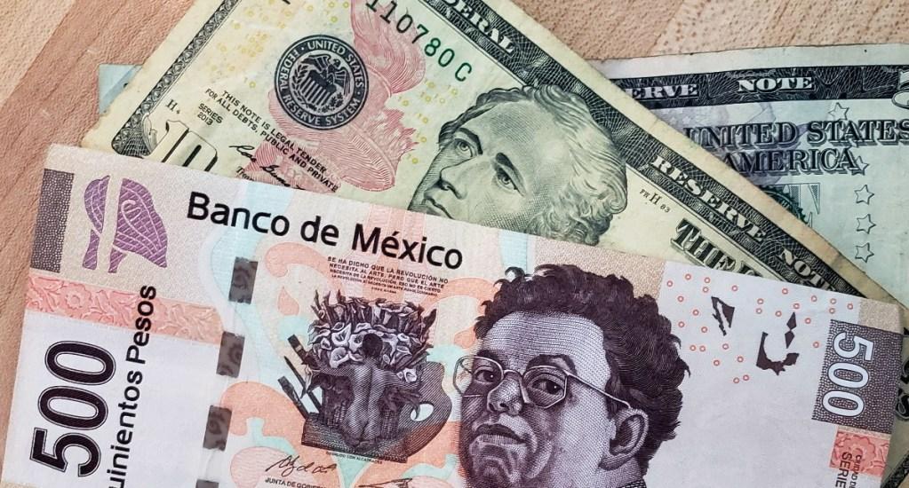 Peso mexicano cierra en 19.95 por la debilidad del dólar estadounidense - Peso Dólar dinero dólares pesos tipo de Cambio 2