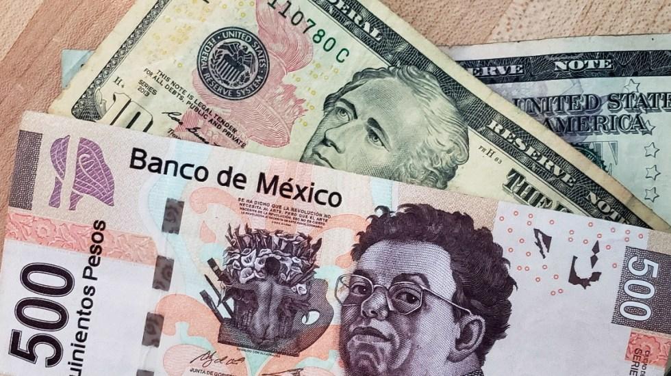 Peso mexicano se aprecia frente al dólar en niveles no vistos desde marzo - Peso Dólar dinero dólares pesos tipo de Cambio 2
