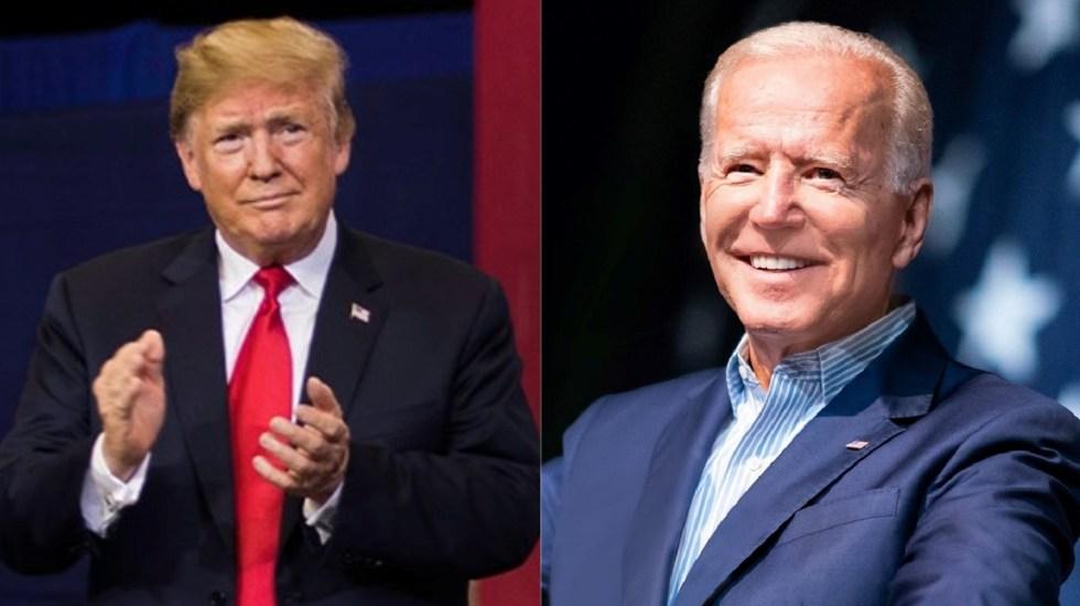 Trump y Biden sustituyeron segundo debate con foros virtuales - Donald Trump y Joe Biden. Foto de Facebook / LDD