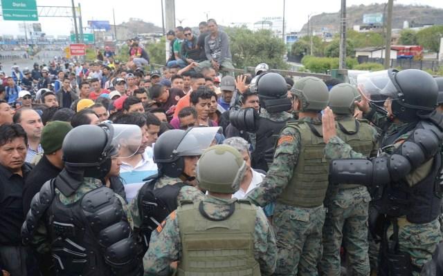 Marea blanca se congrega en Guayaquil y clama por la paz en Ecuador - Ecuador Guayaquil protesta paz