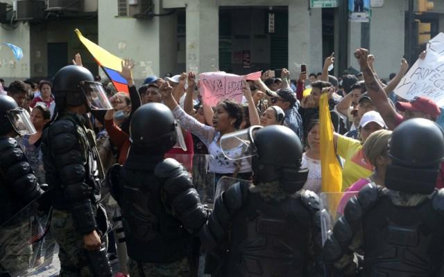 México pide respetar Estado de Derecho y derechos humanos en Ecuador - Foto de EFE