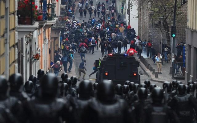 Lenín Moreno decreta estado de excepción tras manifestaciones - Estado de excepción en Ecuador