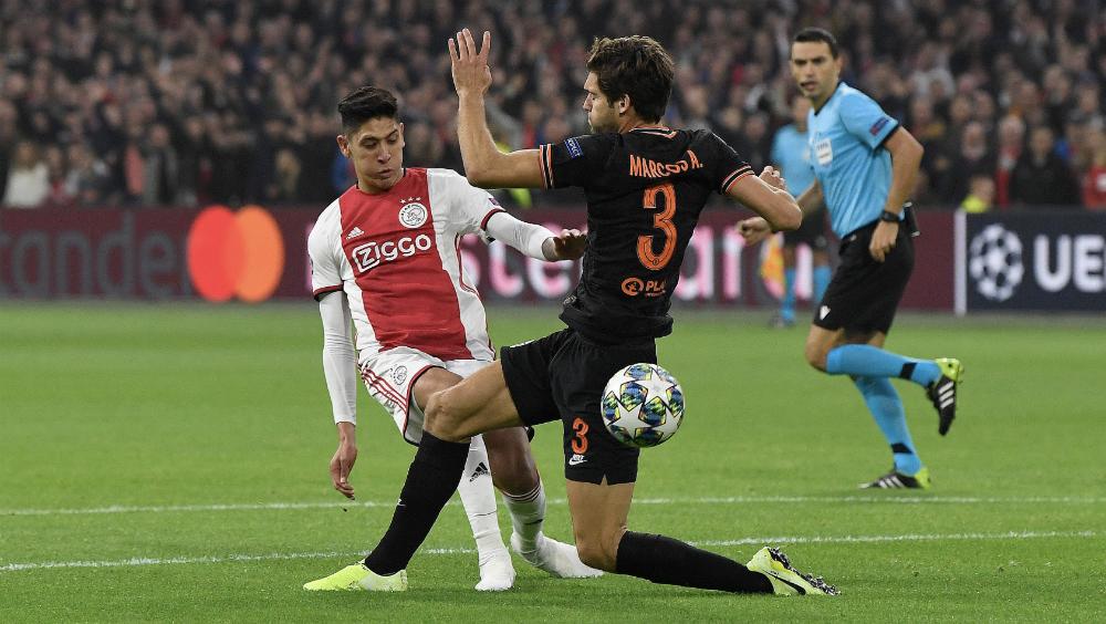 Ajax de Edson Álvarez pierde por la mínima ante el Chelsea - Foto de @AFCAjax