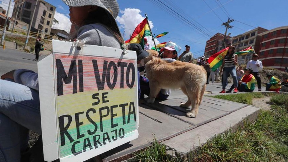 Resultado de imagen para elecciones bolivia OEA