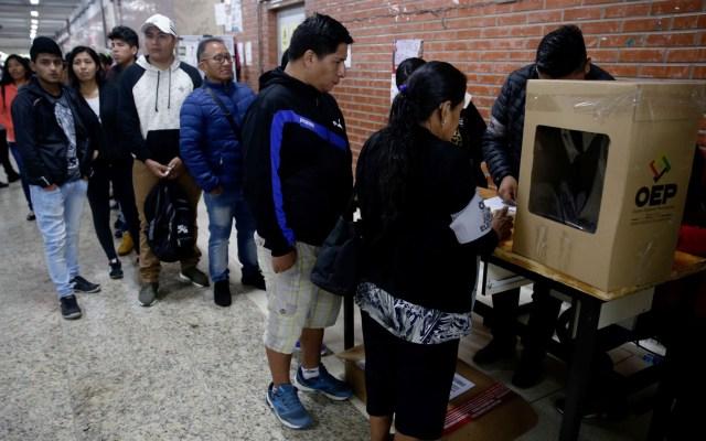 El voto castigo marca las elecciones en América Latina - Elecciones en Bolivia. Foto de EFE