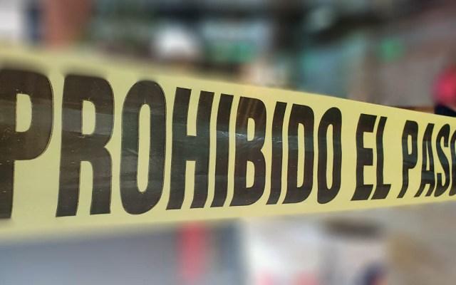 Jornada violenta deja cuatro muertos en la Morelos - Escena del crimen cinta
