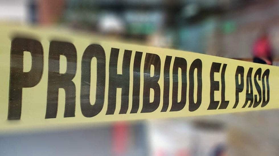 Atropellan y matan a mujer en Azcapotzalco - Escena del crimen cinta