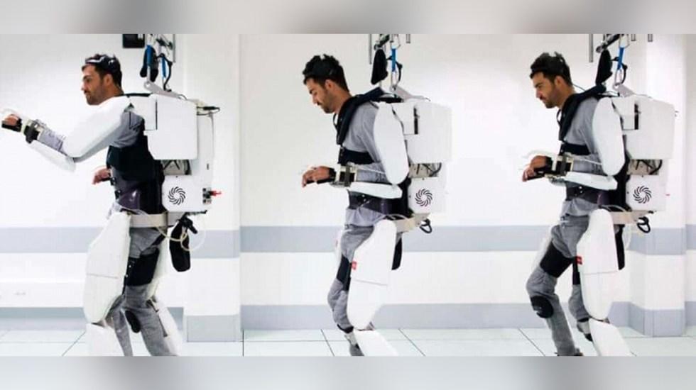 Estudiantes mexicanos diseñan exoesqueleto para personas sin movilidad en brazos - Exloesqueleto