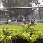 Balean a futbolista en Ciudad Deportiva