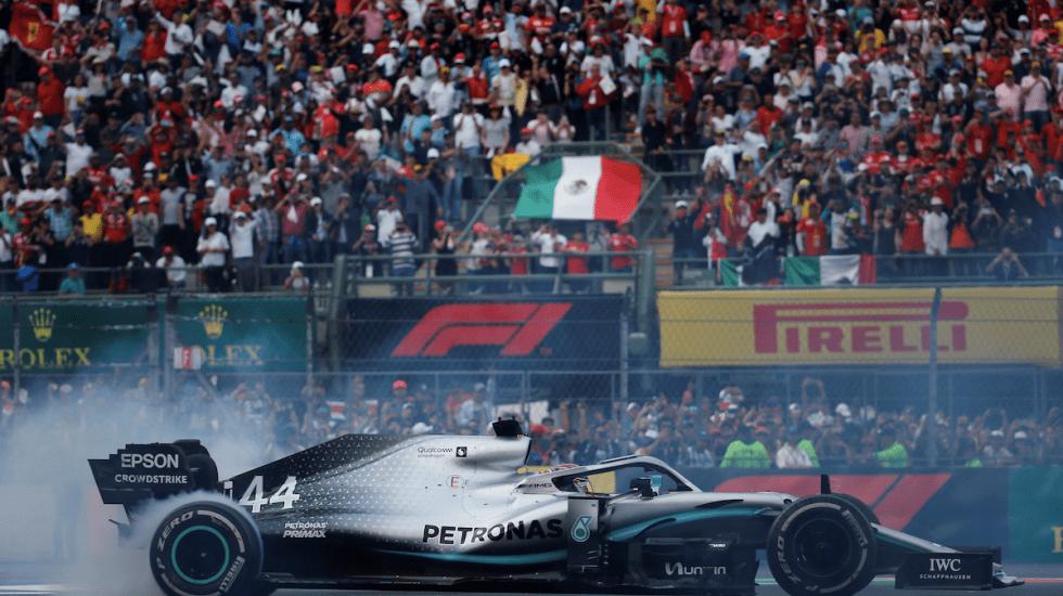GP de México 2019 rompe récord con casi 350 mil asistentes - Foto de EFE