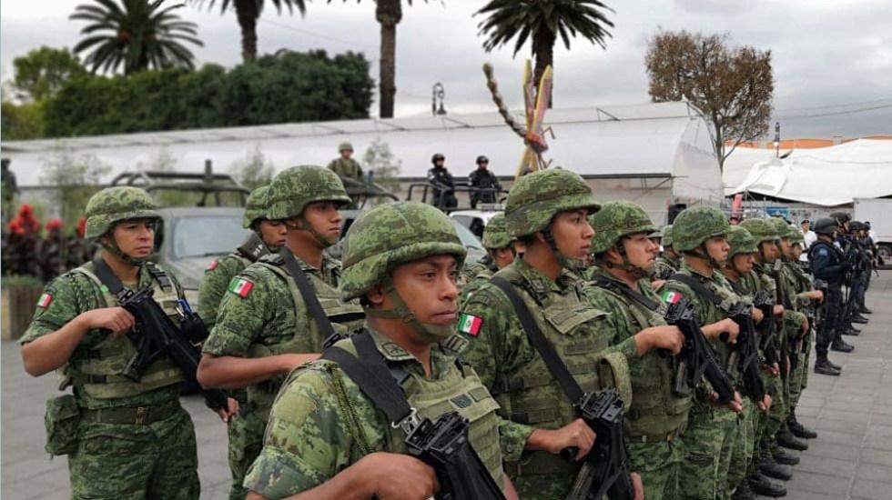 Guardia Nacional inicia operaciones en Xochimilco - Guardia Nacional en Xochimilco. Foto de @XochimilcoAl