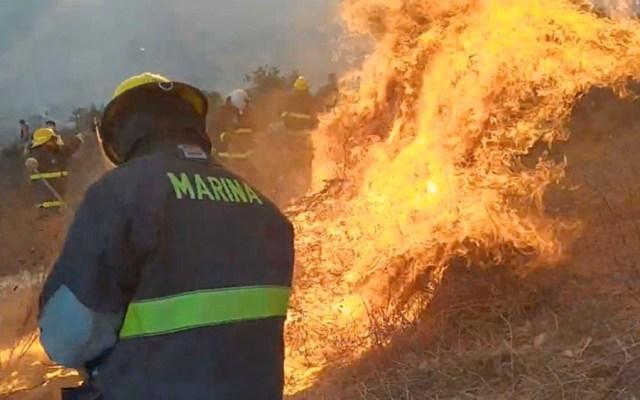 Controlan 50 por ciento de incendios en Baja California; hay dos muertos - incendio baja california